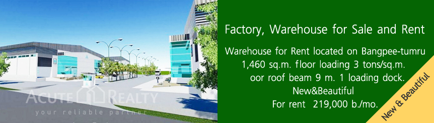 Factory/Warehouse for Sale&Rent